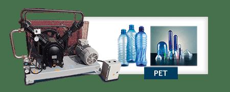 Compressores de alta pressao - Indústrias Pet e naval